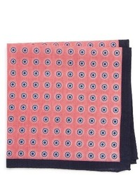 Nordstrom Shop Lenzo Medallion Pocket Square
