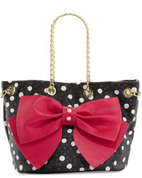 Betsey Johnson Still Hopelessly Romantic Bucket Bag Fuchsia