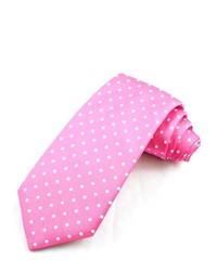 Hot Pink Polka Dot Tie