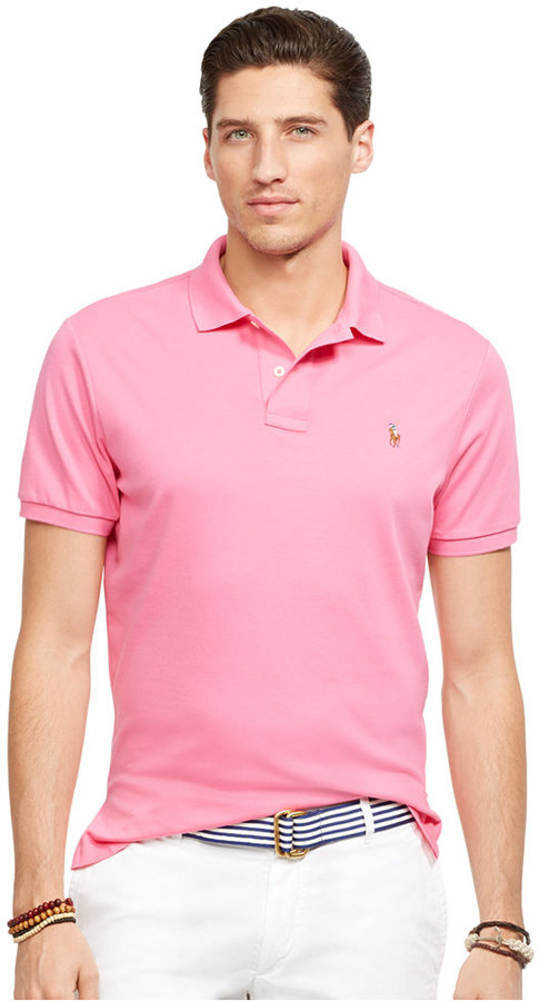 a00b0b89371d2 ... Polo Ralph Lauren Pima Soft Touch Polo Shirt ...