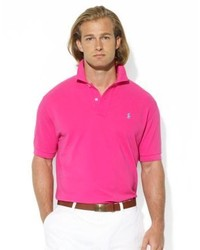 ... Polo Ralph Lauren Classic Fit Short Sleeved Cotton Mesh Polo ...