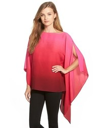Vince Camuto Ombr Poncho Top