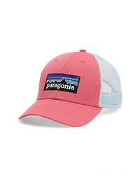 Hot Pink Print Baseball Cap