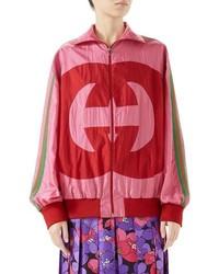 Gucci Interlocking G Technical Nylon Jacket