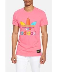 8f98841460ba2 adidas Originals X Pharrell Williams Trefoil Graphic T Shirt