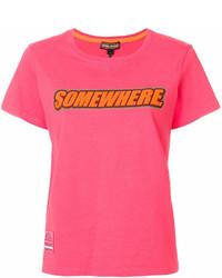 Marc Jacobs Somewhere Print T Shirt
