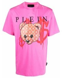 Philipp Plein Teddy Logo T Shirt