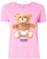 Moschino Underwear Teddy Print T Shirt