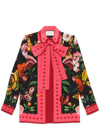 Gucci Garden Silk Shirt