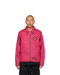 Kidill Pink Dickies Edition Winston Smith Graphic Jacket