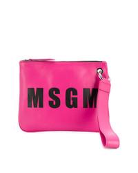 MSGM Logo Clutch