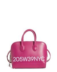 Calvin Klein 205W39nyc Small Dalton Calfskin Leather Satchel