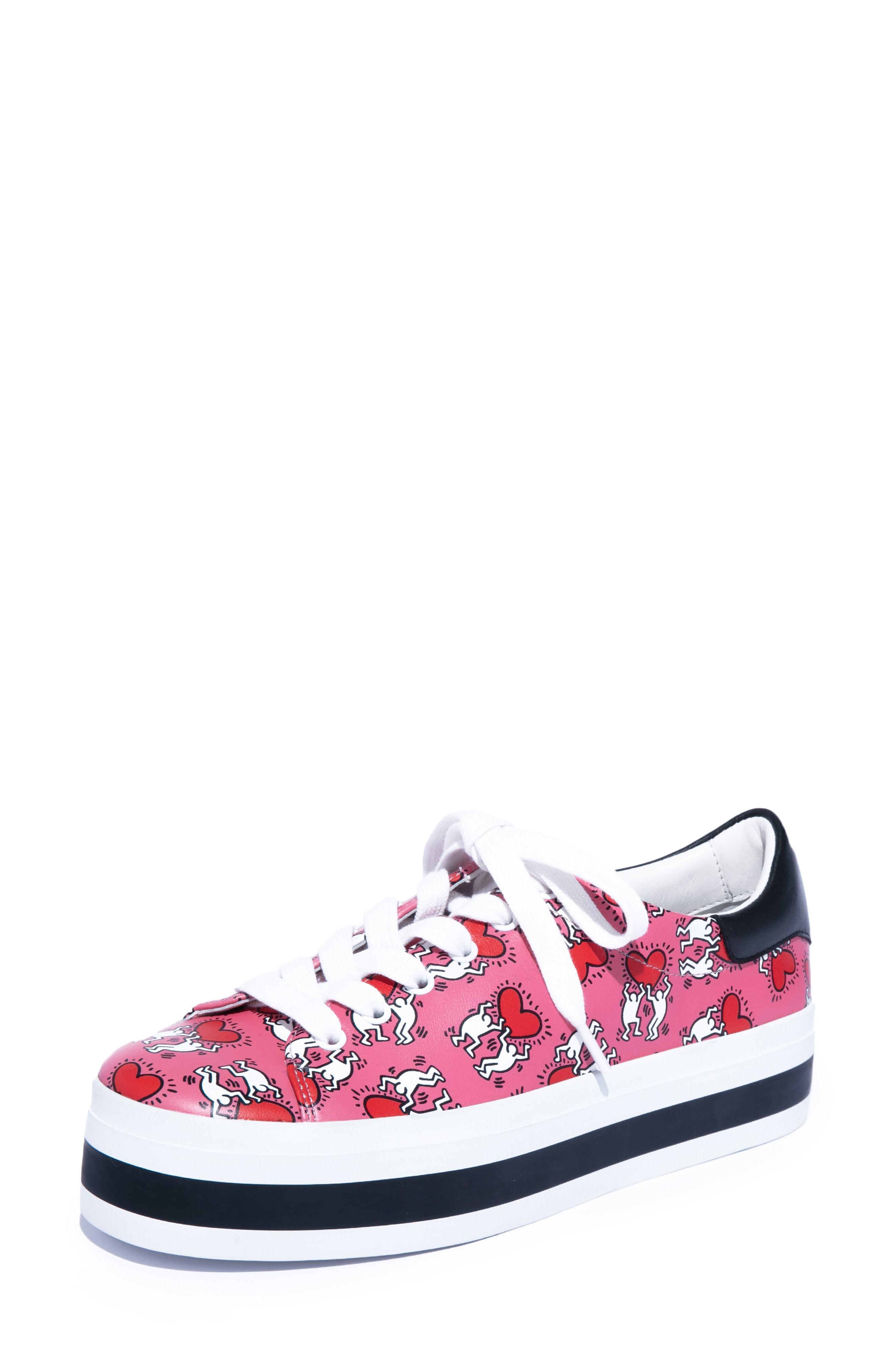 c2000d8a4438 ... Alice + Olivia X Keith Haring Ezra Flatform Sneaker