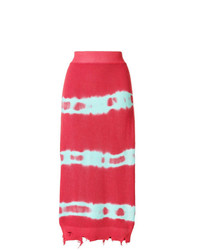MSGM Jersey Skirt