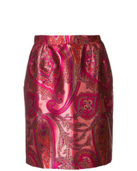 Yves Saint Laurent Vintage Paisley Skirt