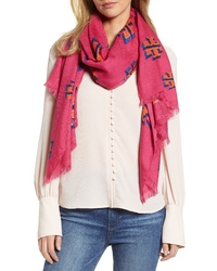 Tory Burch Flying Logo Scarf