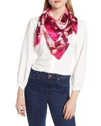 kate spade new york Geospade Square Silk Scarf