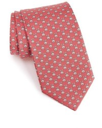 Rabbit print silk tie medium 827033