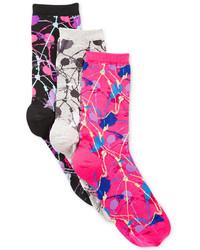 Hot Sox Pop Splatter Trouser Socks