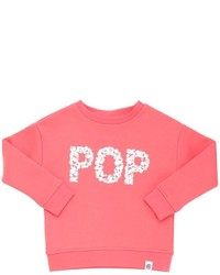 Molo Popcorn Printed Cotton Blend Sweatshirt