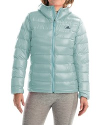 1b2a366fc ... Pink Puffer Jackets adidas Outdoor Light Down Jacket Hooded adidas  Outdoor Light Down Jacket Hooded ...