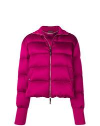 Alexander McQueen Padded Zip Up Jacket