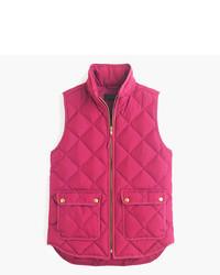 Petite excursion quilted down vest medium 5310895