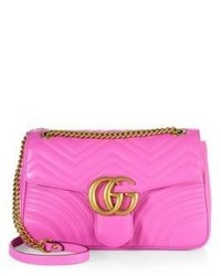 Gg 20 medium quilted leather shoulder bag medium 797186