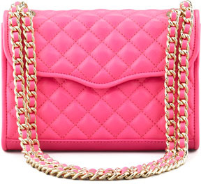 Rebecca Minkoff Quilted Affair Mini Shoulder Bag Neon Pink   Where ... : pink quilted bag - Adamdwight.com