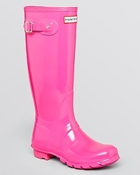 Hunter Rain Boots Original Tall Gloss