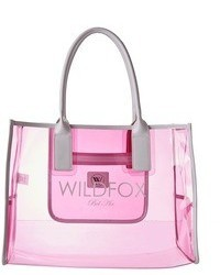 Wildfox vinyl tote wild fox bel air medium 46119