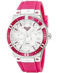 Roxy Rx1005svpk The Bliss Pink Silicone Strap Watch