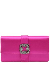 Capri swarovski silk satin clutch medium 4417628