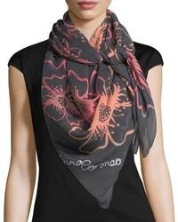 Modal square anemones scarf medium 5253452