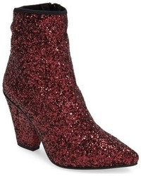 Topshop Sequin Pointy Toe Bootie
