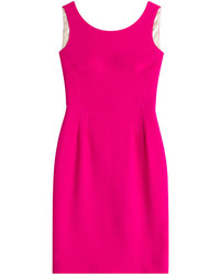 Hot Pink Sheath Dress