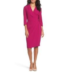 Crepe sheath dress medium 4913946