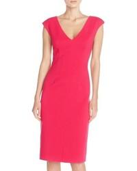 Crepe sheath dress medium 516671