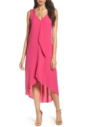 Drape front shift dress medium 4154883