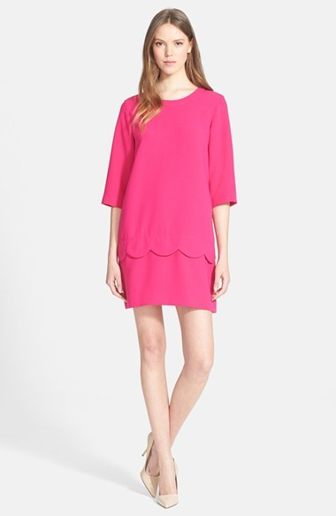 328 Kate Spade New York Demi Scallop Shift Dress