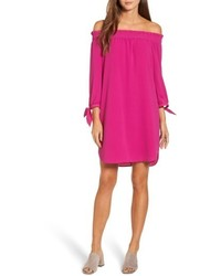 Stretch crepe shift dress medium 5054985
