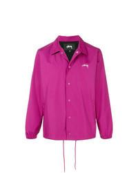 Hot Pink Shirt Jacket