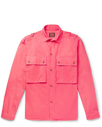 The Workers Club Cotton Twill Overshirt