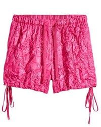 H&M Crinkled Nylon Shorts