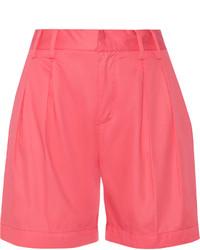 Maison Martin Margiela Mm6 Maison Margiela Neon Cotton Twill Shorts