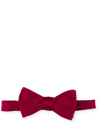 Neiman Marcus Pre Tied Satin Bow Tie