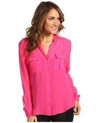 f2add0407f3a1 Banana Republic Silk Utility Blouse Out of stock · BCBGMAXAZRIA Anderson Pocket  Blouse
