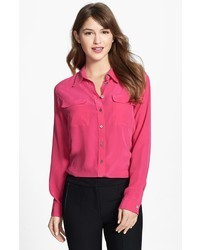 9c0cb6085eeb2 Equipment Brett Shirt Out of stock · Vince Camuto Two By Silk Utility Blouse