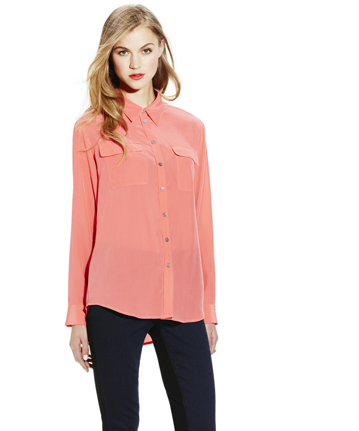 Vince Camuto Utility Shirt Where To Buy How To Wear