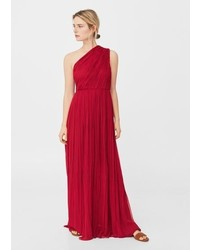 Mango Silk Asymmetric Gown